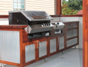 Outdoor BBQ kitchen project Lithgow